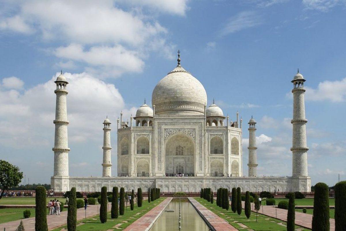 Está inspirado en el Taj Mahal, de India Foto:Wikipedia. Imagen Por:
