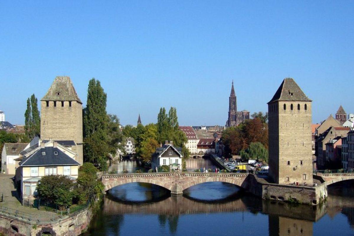 Inspirada en las villas de la región Alsacia, de Francia Foto: Wikipedia. Imagen Por: