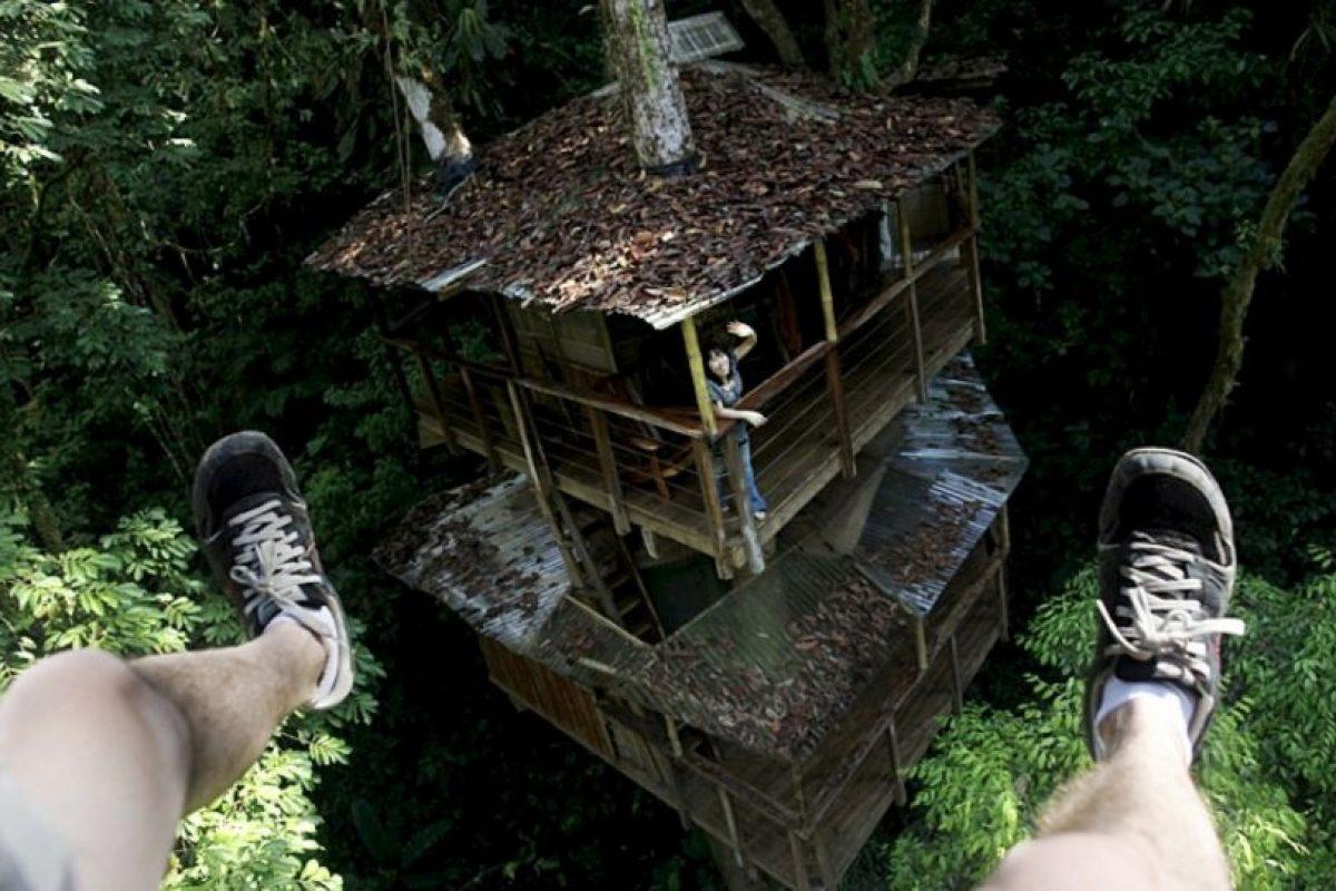 Es un hotel que se sostiene en el aire. Foto:Fincabellavista.com. Imagen Por: