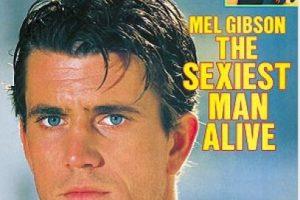 1985, Mel Gibson Foto:People. Imagen Por: