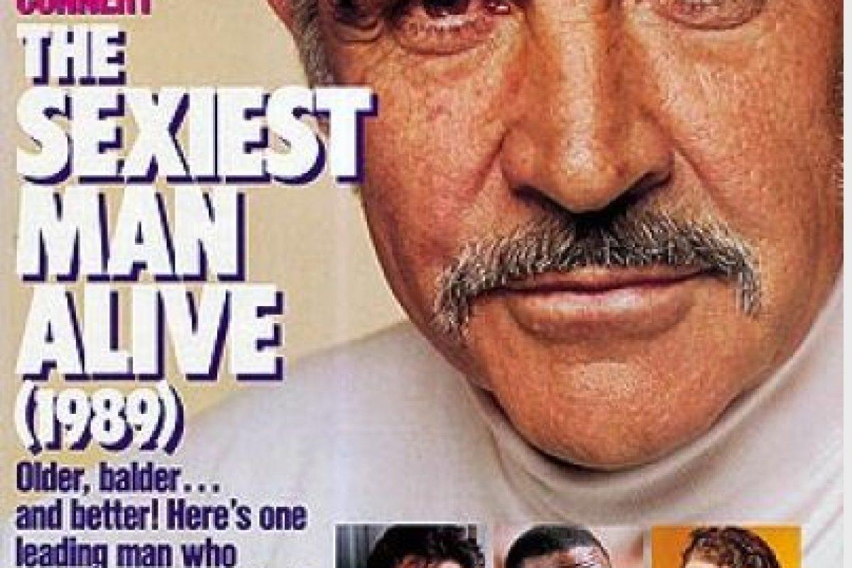 1989, Sean Connery Foto:People. Imagen Por: