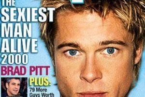 Bard Pitt también fue portada en el año 2000 Foto:People. Imagen Por: