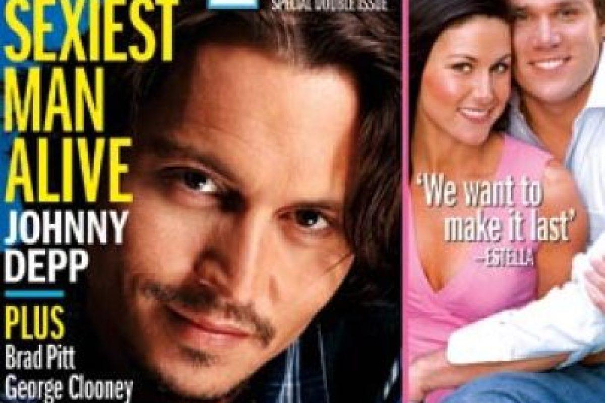 2003, Johnny Depp Foto:People. Imagen Por: