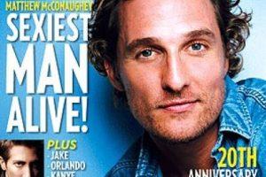 2005, Matthew McConaughey Foto:People. Imagen Por: