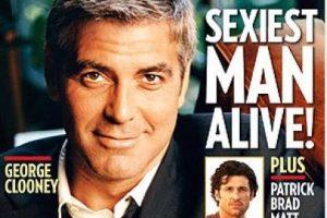 Clooney también fue portada en 2006 Foto:People. Imagen Por: