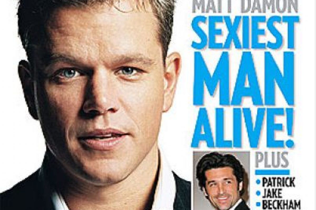 2007, Matt Damon Foto:People. Imagen Por: