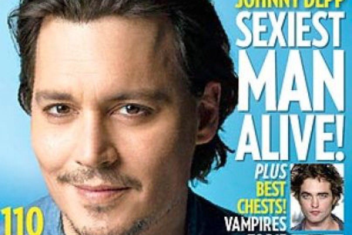 Depp también fue portada en 2009 Foto:People. Imagen Por: