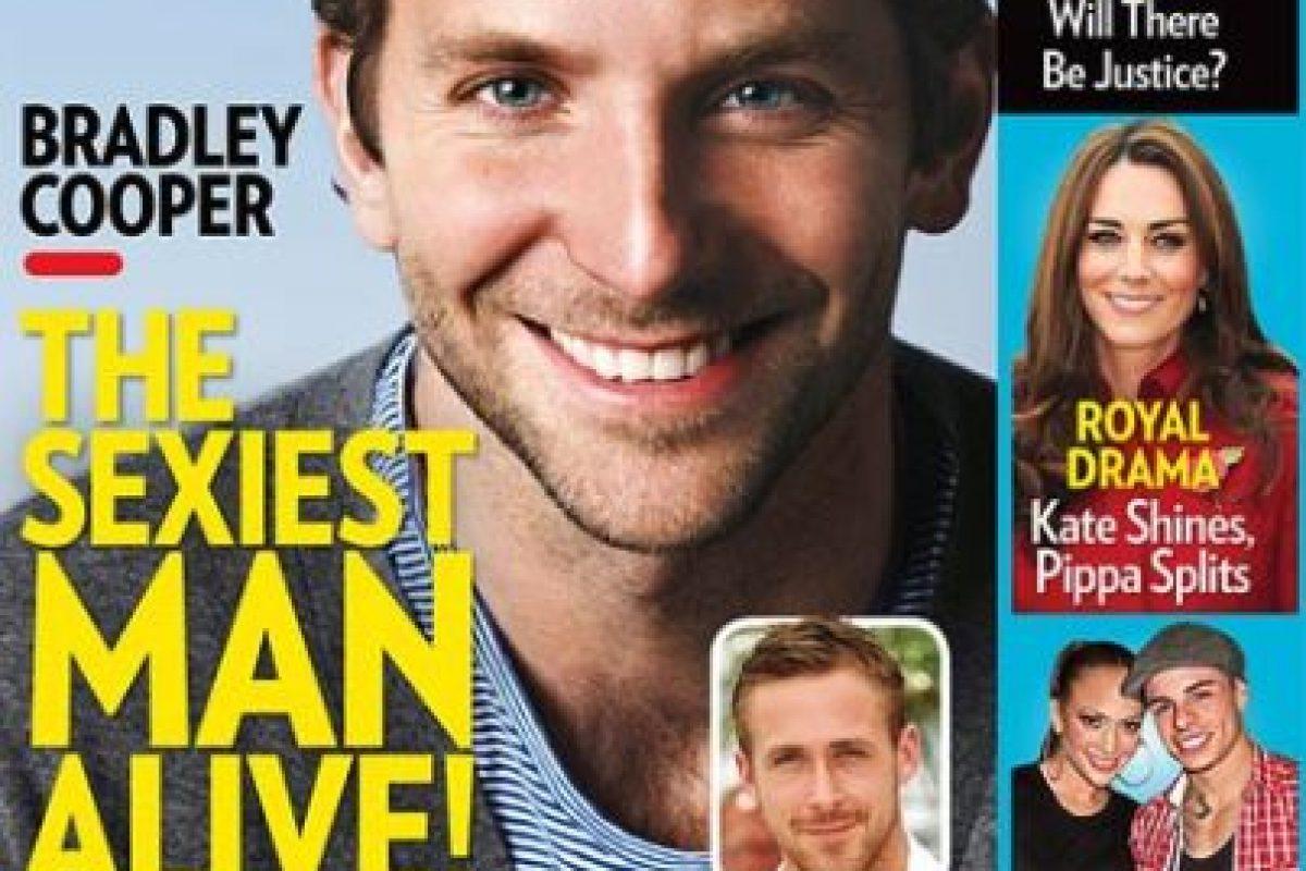 2011, Bradley Cooper Foto:People. Imagen Por: