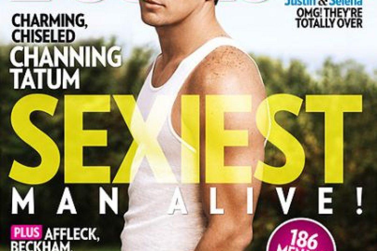 2012, Channing Tatum Foto:People. Imagen Por: