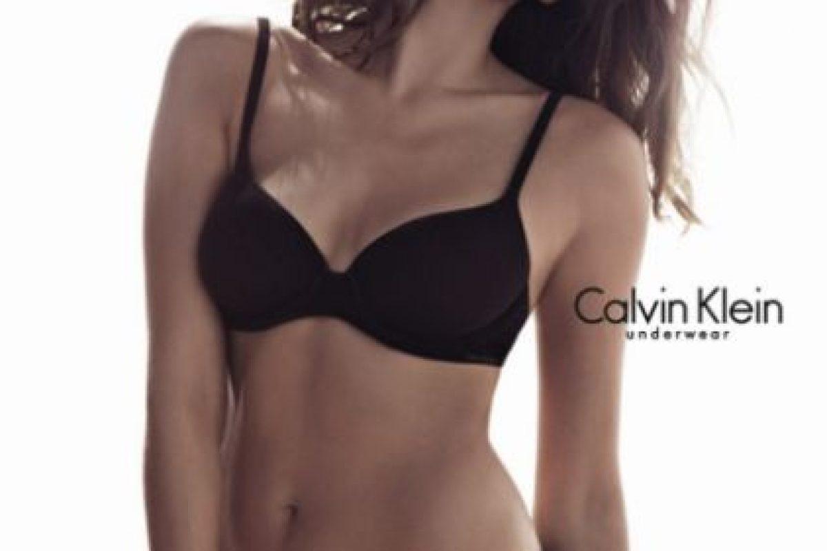 Eva Mendes Foto:Calvin Klein. Imagen Por: