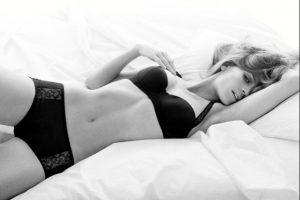 Modelo en 2009 Foto:Calvin Klein. Imagen Por: