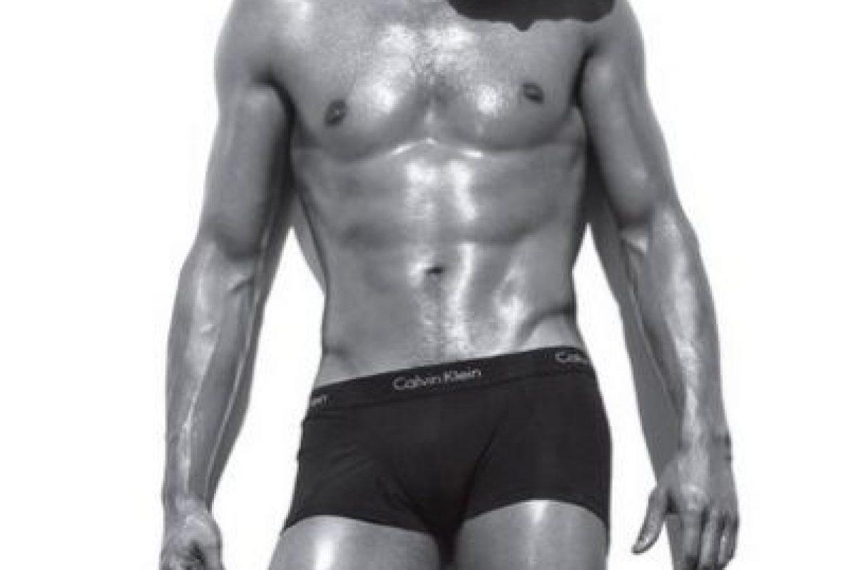 """Mucho antes der el protagonista de """"Las 50 sombras de Grey"""" Foto:Calvin Klein. Imagen Por:"""