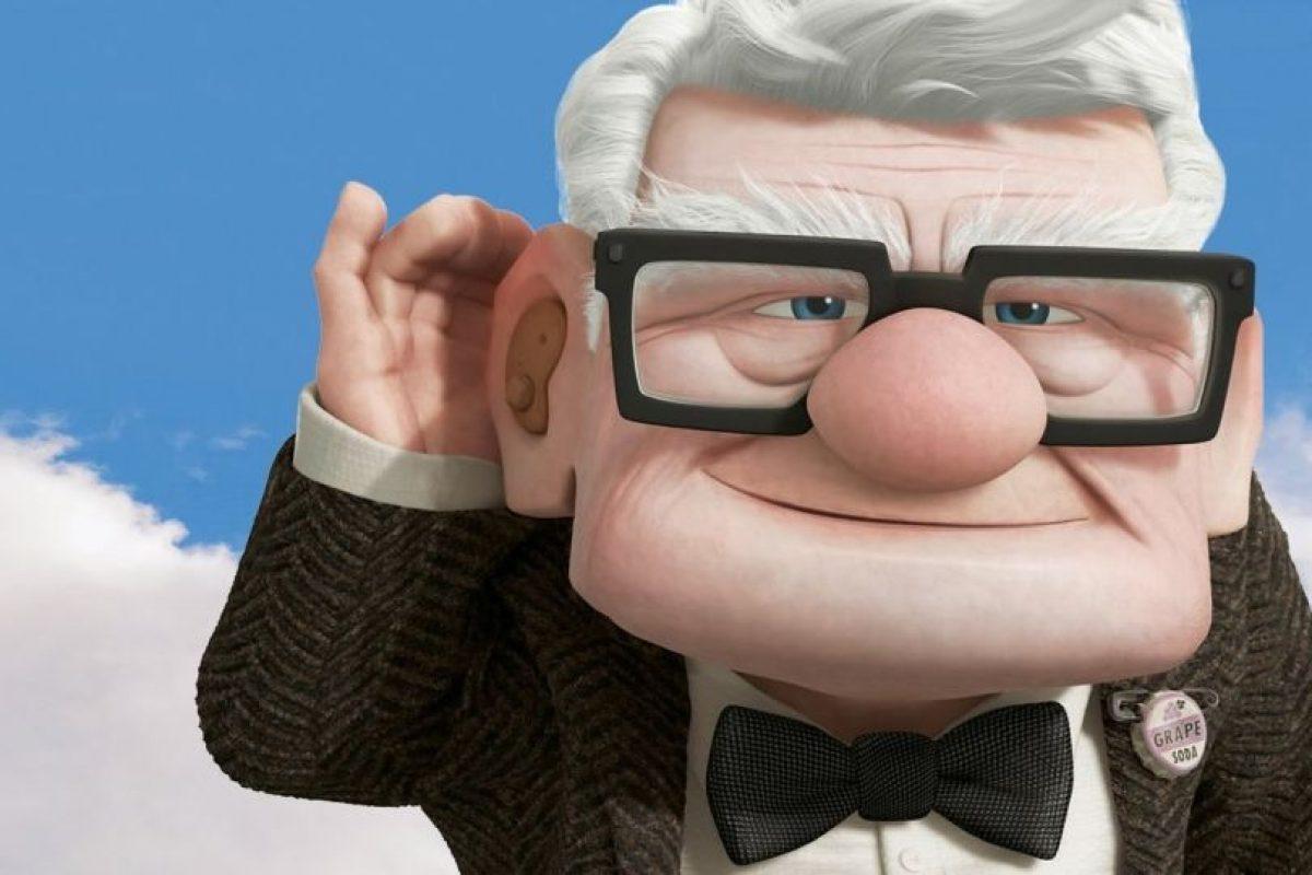 "Carl, de ""Up"" Foto:Pixar. Imagen Por:"