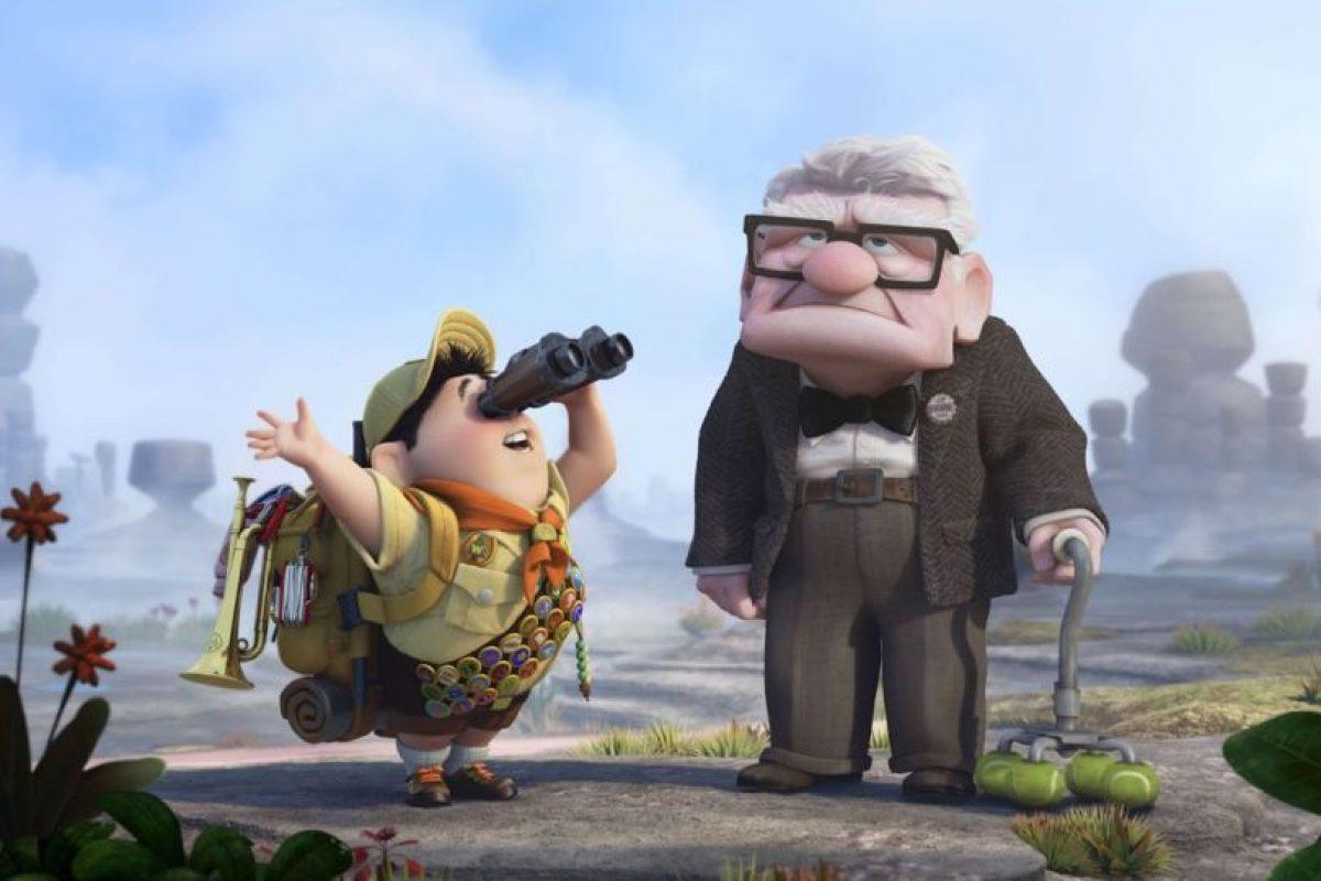Conmovió a todos por su historia de amor con su esposa Ellie y por querer hacer su sueño Foto:Pixar. Imagen Por: