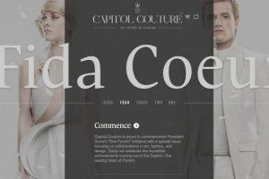 Los personajes son referenciados como íconos de estilo. Foto:Capitol Couture. Imagen Por: