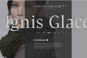 El blog hace sentir al lector en Panem, la capital mencionada en la saga. Foto:Capitol Couture. Imagen Por: