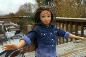 """Esta """"Barbie"""" fue presentada a comienzos de este año. Foto:Lammily. Imagen Por:"""