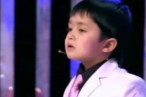 Tiene cuatro años Foto:Youtube No-Racism. Imagen Por: