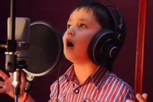 Es dueño de una gran voz Foto:Youtube No-Racism. Imagen Por: