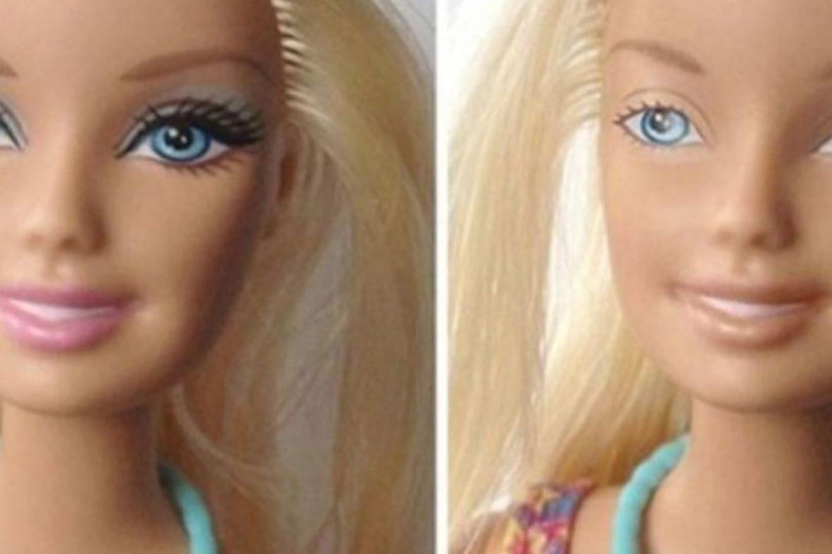 Esta Barbie viene sin maquillaje Foto:Behance. Imagen Por:
