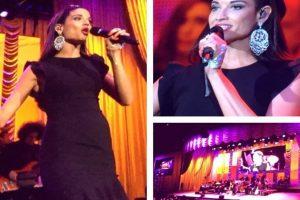"Natalia Jiménez cantó el tema ""Penélope"" Foto:Facebook/LatinGrammy. Imagen Por:"