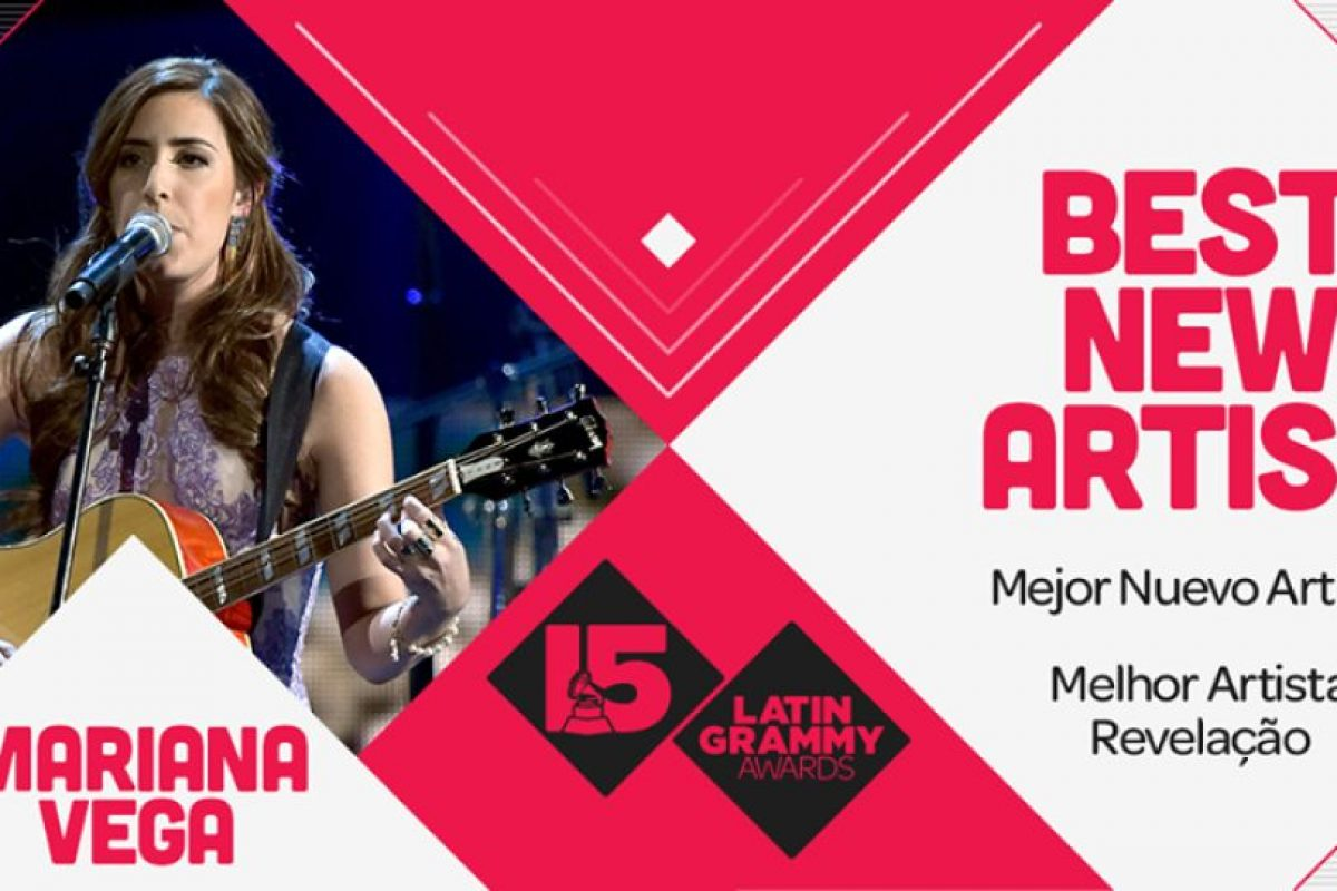 "Mariana Vega ganó como la ""Mejor nueva artista"" Foto:Twitter/Latin Grammys. Imagen Por:"