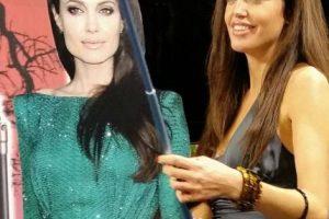 Lina Sands es una actriz española que trabaja como la doble de Angelina Jolie Foto:Facebook/Lina Sands. Imagen Por: