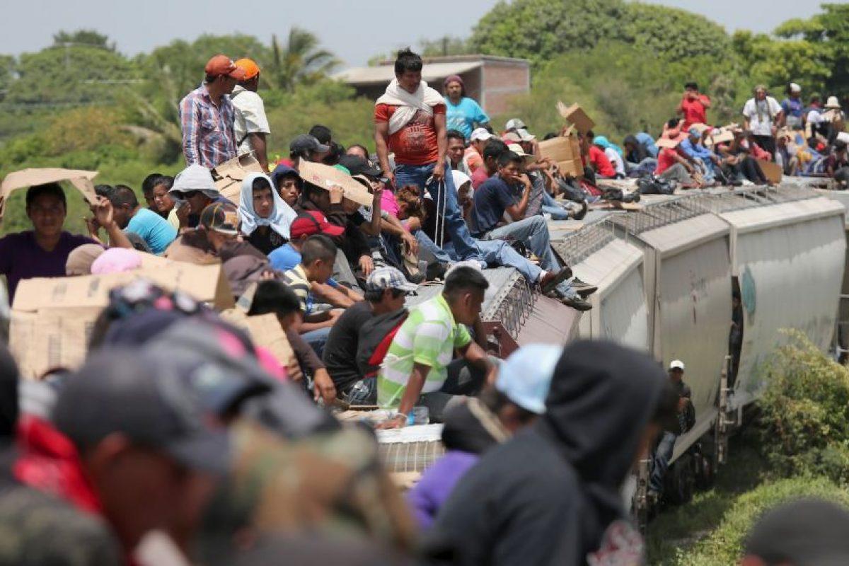 """""""Un 22% de inmigrantes sin autorización para vivir en Estados Unidos llegó al país hace menos de cinco años"""", de acuerdo al Instituto de Política Migratoria Foto:Getty Images. Imagen Por:"""