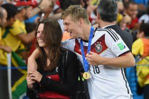 A la pareja se le vio felizmente en la pasada Copa del Mundo. Foto:Getty Images. Imagen Por: