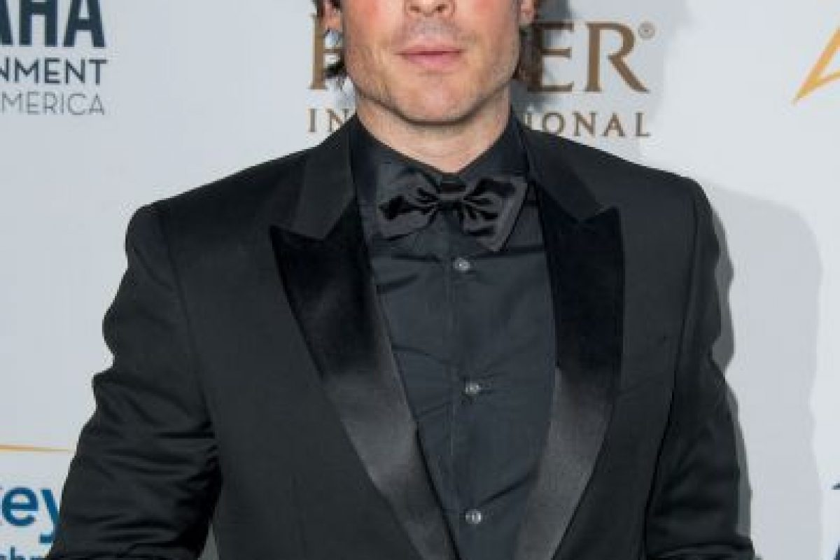 2014, Ian Somerhalder Foto: Getty Images. Imagen Por: