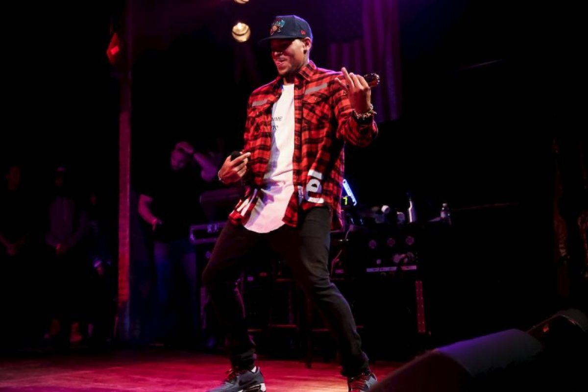 El rapero estadounidense Chris Brown Foto:Getty. Imagen Por: