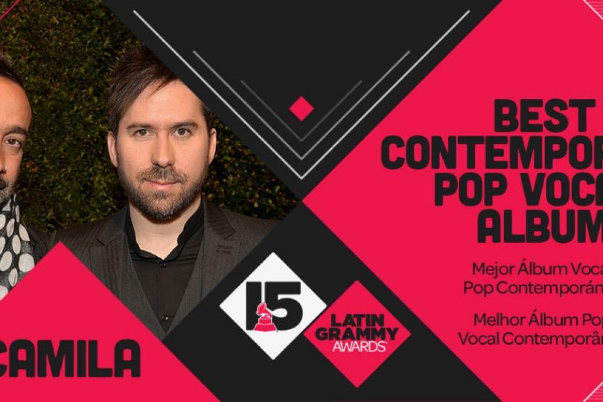 """Camila ganó el premio a """"Mejor álbum vocal pop contemporanéo"""" por """"Elypse"""" Foto:Twitter/Latin Grammys. Imagen Por:"""