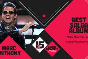 "Marc Anthony ganó el premio ""Mejor álbum de salsa"" Foto:Twitter/Latin Grammys. Imagen Por:"