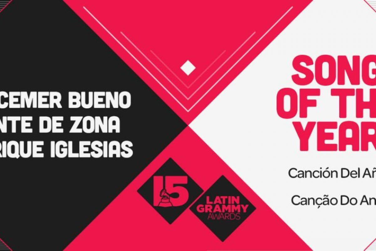 """El premio a la """"Canción del año"""" fue para """"Bailando"""" de Descemer Bueno, Gente de Zona y Enrique Iglesias Foto:Twitter/Latin Grammys. Imagen Por:"""