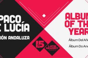 """Paco de Lucía ganó el premio a """"Mejor álbum del año"""" por """"Canción Andaluza"""" Foto:Twitter/Latin Grammys. Imagen Por:"""