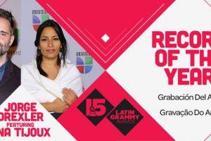 """Jorge Drexler y Ana Tijoux ganaron el Grammy a """"Grabación del año"""" por """"Universos paralelos"""" Foto:Twitter/Latin Grammys. Imagen Por:"""