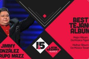 "El premio a ""Mejor álbum de música texana"" fue para Jimmy González y Grupo Mazz por ""Forever Mazz"". Foto:Twitter/Latin Grammys. Imagen Por:"