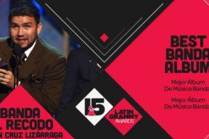 """La Banda el Recodo de Don Cruz Lizarraga ganó el premio a """"Mejor álbum banda"""" por """"Haciendo historia"""". Foto:Twitter/Latin Grammys. Imagen Por:"""