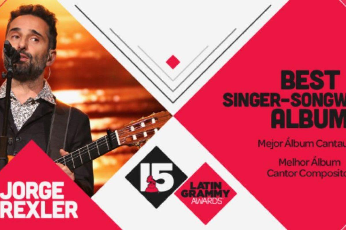 """Jorge Drexler ganó el premio a """"Mejor álbum cantautor"""" por """"Bailar en la cueva"""" Foto:Twitter/Latin Grammys. Imagen Por:"""