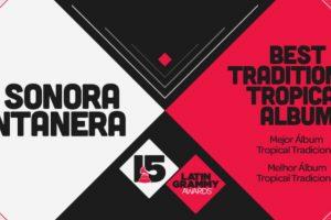 """La Sonora Santanera se ganó el premio a """"Mejor álbum tropical tradicional"""" por el disco """"Grandes éxitos de las Sonoras, con la más grande La Sonora Santanera. Foto:Twitter/Latin Grammys. Imagen Por:"""