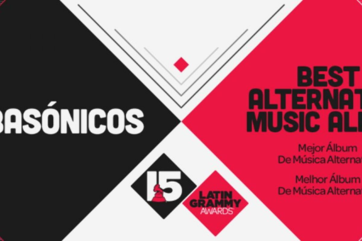 """El premio a """"Mejor álbum de música alternativa"""" fue para Babasónicos por su disco """"Romanticismo"""". Foto:Twitter/Latin Grammys. Imagen Por:"""