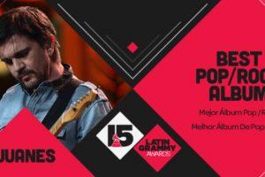 """Juanes ganó el premio a """"Mejor álbum de pop/rock con """"Loco de amor"""" Foto: Twitter/Latin Grammys. Imagen Por:"""