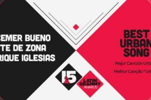 """La """"Mejor canción urbana"""" fue """"Bailando"""" de Enrique Iglesias Foto:Twitter/Latin Grammys. Imagen Por:"""
