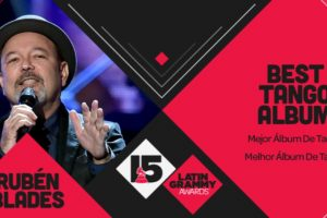 "Rubén Blades ganó el premio a ""Mejor álbum de tango"" Foto:Twitter/Latin Grammys. Imagen Por:"