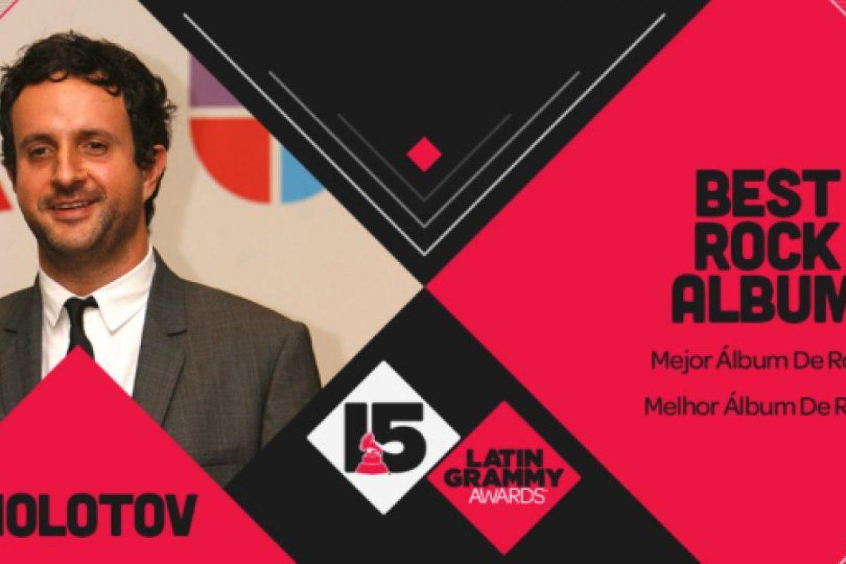 """El premio a """"Mejor álbum de rock"""" se lo ganó Molotov con el disco """"Agua maldita"""" Foto:Twitter/Latin Grammys. Imagen Por:"""