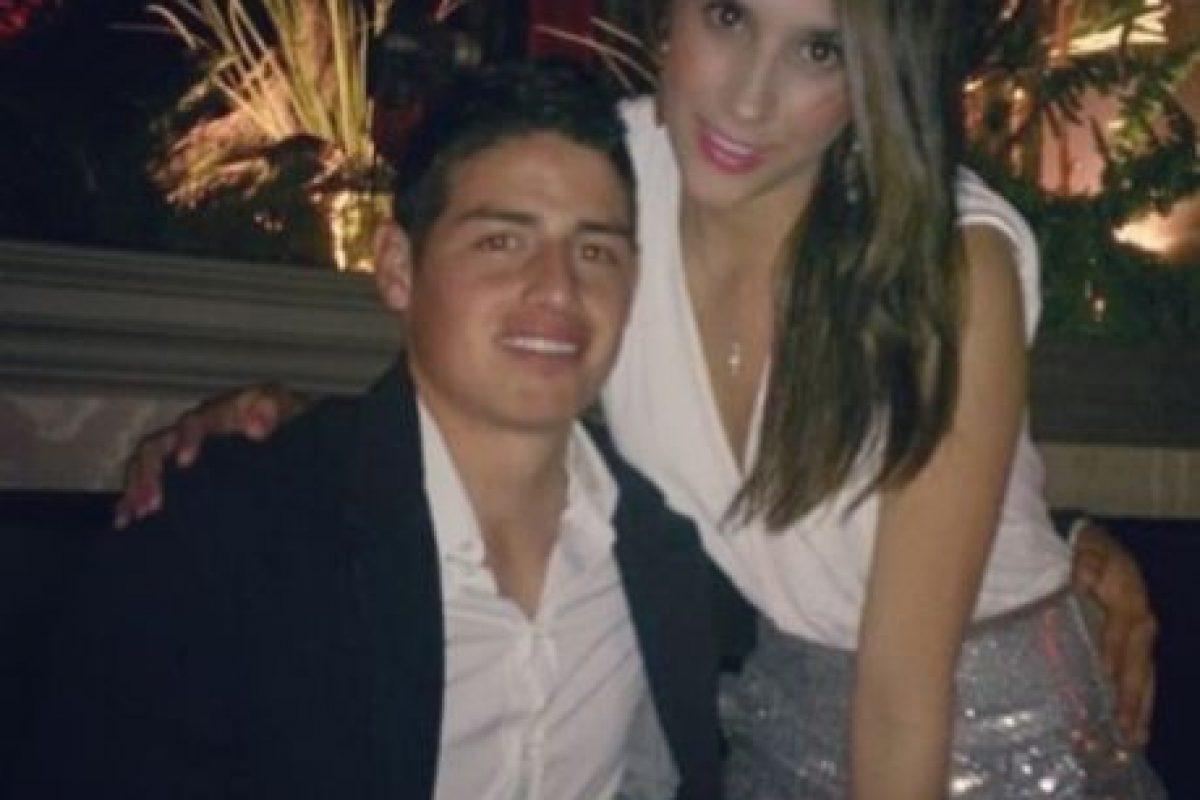 James Rodríguez y Daniela Ospina. Foto:instagram.com/jamesrodriguez10. Imagen Por: