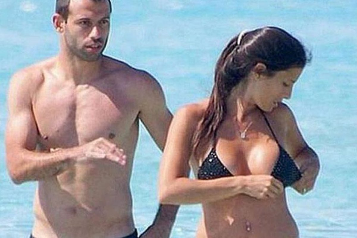 El argentino está casado desde 2008. Foto:Twitter. Imagen Por:
