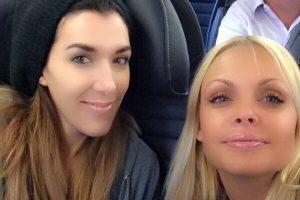 En el avión rumbo a Santiago. Foto:instagram.com/sexyjessej. Imagen Por: