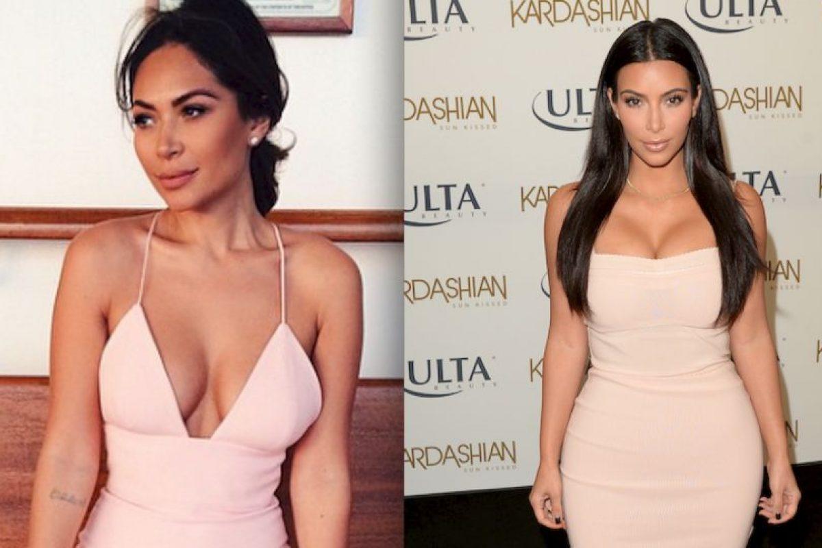 Marianna Hewitt es una bloguera especializada en moda y maquillaje, esta mujer es muy parecida a Kim Kardashian Foto:Instagram/Getty Images. Imagen Por: