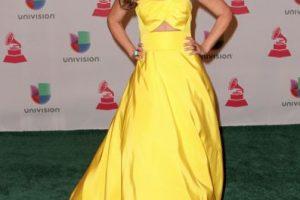 Chiquinquirá Delgado, de amarillo Foto:Getty Images. Imagen Por: